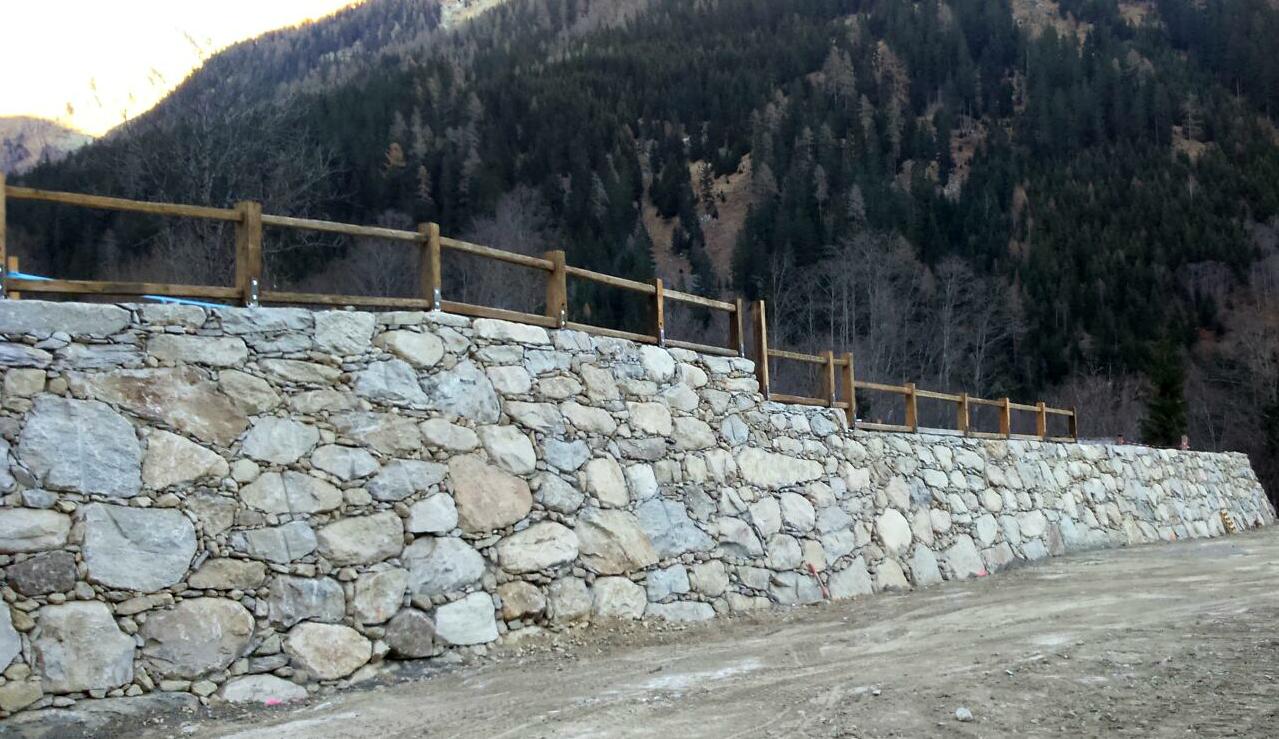 Naturstenmauer Innerfragant